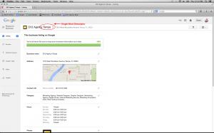 Google Descriptor View