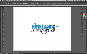 brand identity using vector software