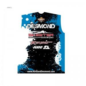 Kirkland Desmond 2014 jersey back