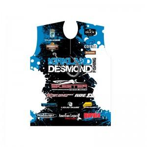 Kirkland Desmond 2014 fishing jersey front