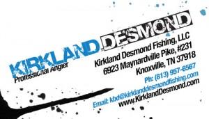 business card back for Kirkland Desmond